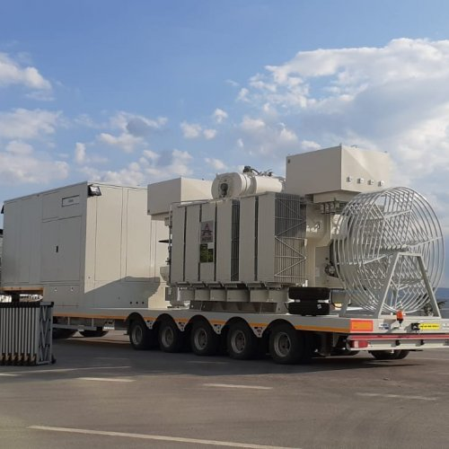 TEC Global successfully supplied 25MVA 33/11,5kV Mobile Substation for KRG MoE.